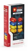 Light Stax, Bausteine, Expansion (transparent red, yellow, blue, orange)