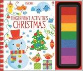 Fingerprint Activities Christmas, w. ink pad