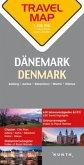Travelmap Reisekarte Dänemark / Denmark 1:300.000