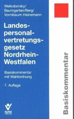 Landespersonalvertretungsgesetz Nordrhein-Westf...