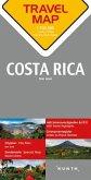 Travelmap Reisekarte Costa Rica 1:700.000