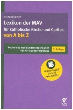 Lexikon der MAV für katholische Kirche und Cari...