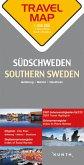 Travelmap Reisekarte Südschweden / Southern Sweden 1:300.000