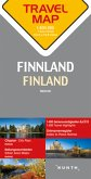 Travelmap Reisekarte Finnland / Finland 1:800.000; Suomi; Finlande