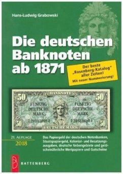 Die deutschen Banknoten ab 1871 - Grabowski, Hans-Ludwig