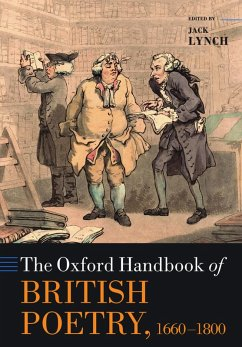 The Oxford Handbook of British Poetry, 1660-1800 (eBook, PDF)