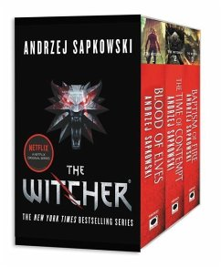 The Witcher Boxed Set: Blood of Elves, the Time of Contempt, Baptism of Fire - Sapkowski, Andrzej