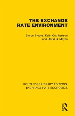 The Exchange Rate Environment (eBook, ePUB) - Brooks, Simon; Mayes, David G.; Cuthbertson, Keith