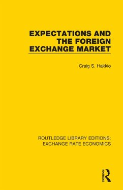 Expectations and the Foreign Exchange Market (eBook, ePUB) - Hakkio, Craig S.