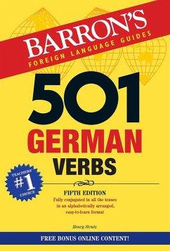 501 German Verbs (eBook, ePUB) - Strutz, Henry