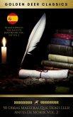 50 Obras Maestras Que Debes Leer Antes De Morir: Vol. 2 (Golden Deer Classics) (eBook, ePUB)