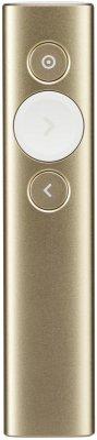 Logitech Spotlight gold wireless presenter