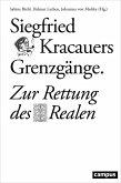 Siegfried Kracauers Grenzgänge (eBook, PDF)