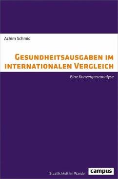 Gesundheitsausgaben im internationalen Vergleich (eBook, PDF) - Schmid, Achim
