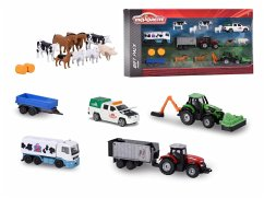 Simba Toys GmbH & Co. Majorette 212057452 - Big Farm Theme Set, Bauernhof -Set
