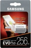 Samsung microSDXC EVO+ 256GB mit Adapter MB-MC256GA/EU