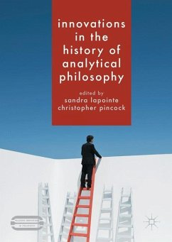 Innovations in the History of Analytical Philosophy