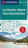 Kompass Karte Lechtaler Alpen, Hornbachkette