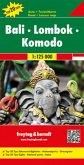 Freytag & Berndt Autokarte Bali - Lombok - Komodo, 1:125.000