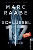 Schlüssel 17 / Tom Babylon Bd.1 (eBook, ePUB)