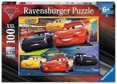 Ravensburger 109616 - Disney Cars 3, Vollgas!, 100 XXL-Teile, Puzzle