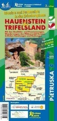 Hauenstein & Trifelsland, Wander- und Radwanderkarte