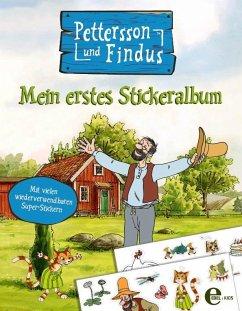 Pettersson und Findus - Mein erstes Stickeralbum - Nordqvist, Sven