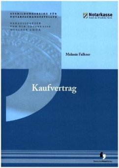 Kaufvertrag - Falkner, Melanie; Rebhan, Ralf