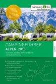 Campingführer Alpen 2018