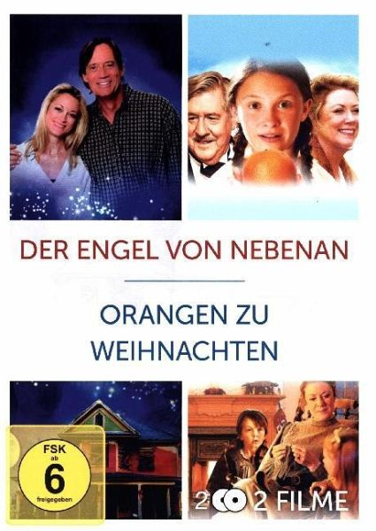 orangen zu weihnachten der engel von nebenan 2 dvds auf. Black Bedroom Furniture Sets. Home Design Ideas