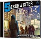 5 Geschwister - Falsches Spiel zu Weihnachten, 1 Audio-CD