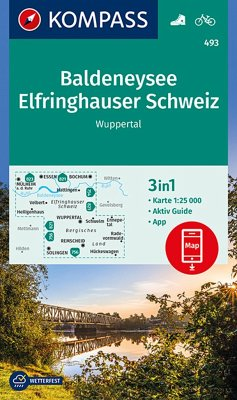Kompass Karte Baldeneysee, Elfringhauser Schwei...