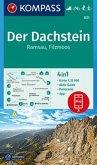 KOMPASS Wanderkarte Der Dachstein, Ramsau, Filzmoos