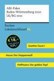 Lektüreschlüssel XL. ABI-Paket Baden-Württemberg 2020. LK/BG 2021