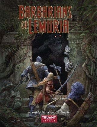Barbarians of Lemuria - Washbourne, Simon