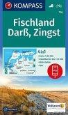KOMPASS Wanderkarte Fischland, Darß, Zingst