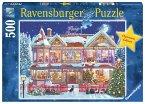 Ravensburger 14769 - Das Weihnachtshaus, Puzzle, 500 Teile