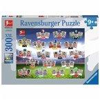 Ravensburger 132393 - Bundesliga 2017/ 2018, Kinderpuzzle, 300 Teile