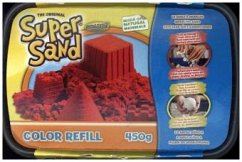 Super Sand Color Refill 450 g Rot
