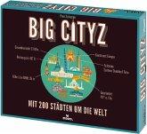 Moses MOS90286 - Big Cityz, Mit 200 Städten um Welt, Georaphiespiel, Brettspiel