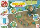 Domino Express Junior Dino Vulcano (Spiel)