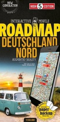 High 5 Edition Interactive Mobile Roadmap Deutschland Nord; Germany Roadmap Of Germany on