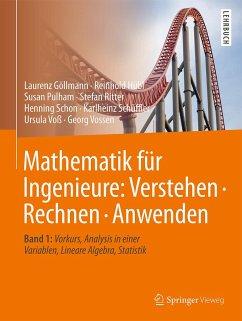 Mathematik für Ingenieure: Verstehen - Rechnen - Anwenden - Göllmann, Laurenz; Hübl, Reinhold; Pulham, Susan; Ritter, Stefan; Schon, Henning; Schüffler, Karlheinz; Voß, Ursula; Vossen, Georg