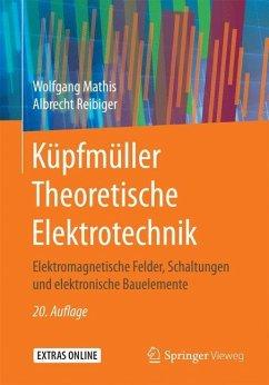 Küpfmüller Theoretische Elektrotechnik - Mathis, Wolfgang; Reibiger, Albrecht