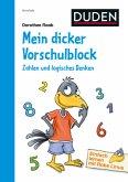 Einfach lernen mit Rabe Linus - Mein dicker Vorschulblock: Zahlen und logisches Denken