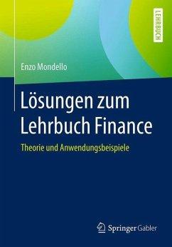 Lösungen zum Lehrbuch Finance - Mondello, Enzo