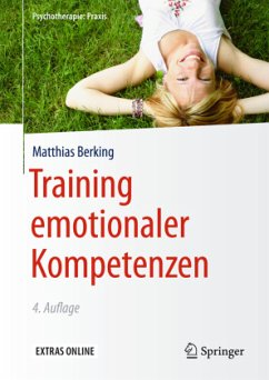 Training emotionaler Kompetenzen - Berking, Matthias