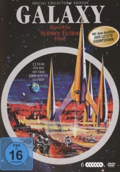 galaxy klassische science fiction filme dvd box auf dvd portofrei bei b. Black Bedroom Furniture Sets. Home Design Ideas