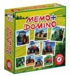 Memo + Domino Traktoren (Kinderspiel)