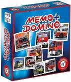 Memo + Domino Feuerwehr (Kinderspiel)